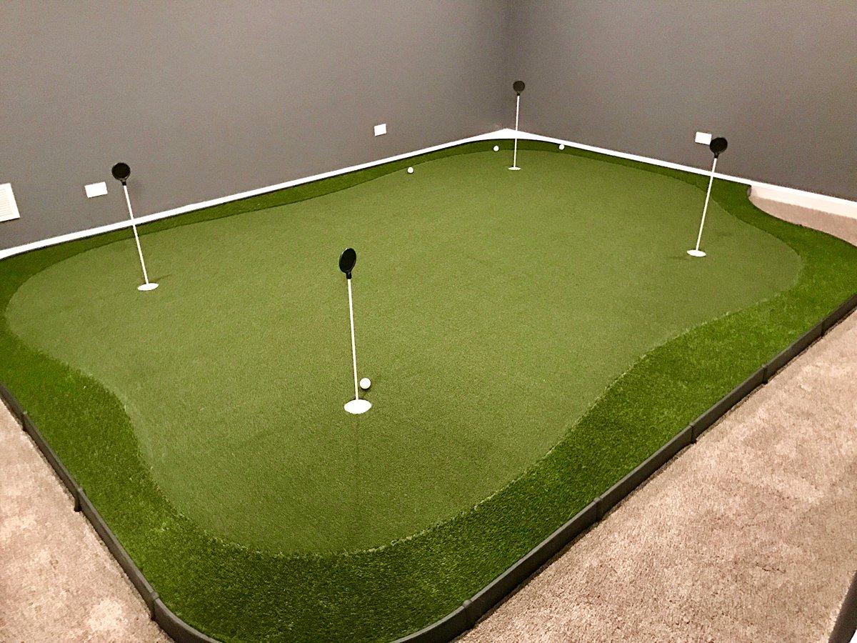basement-putting green-chicago-naperville-golf